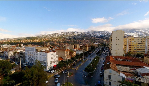 Blida, Argelian city of Andalusian origin