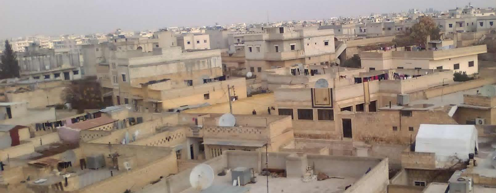 Manbij, Syrian roofs