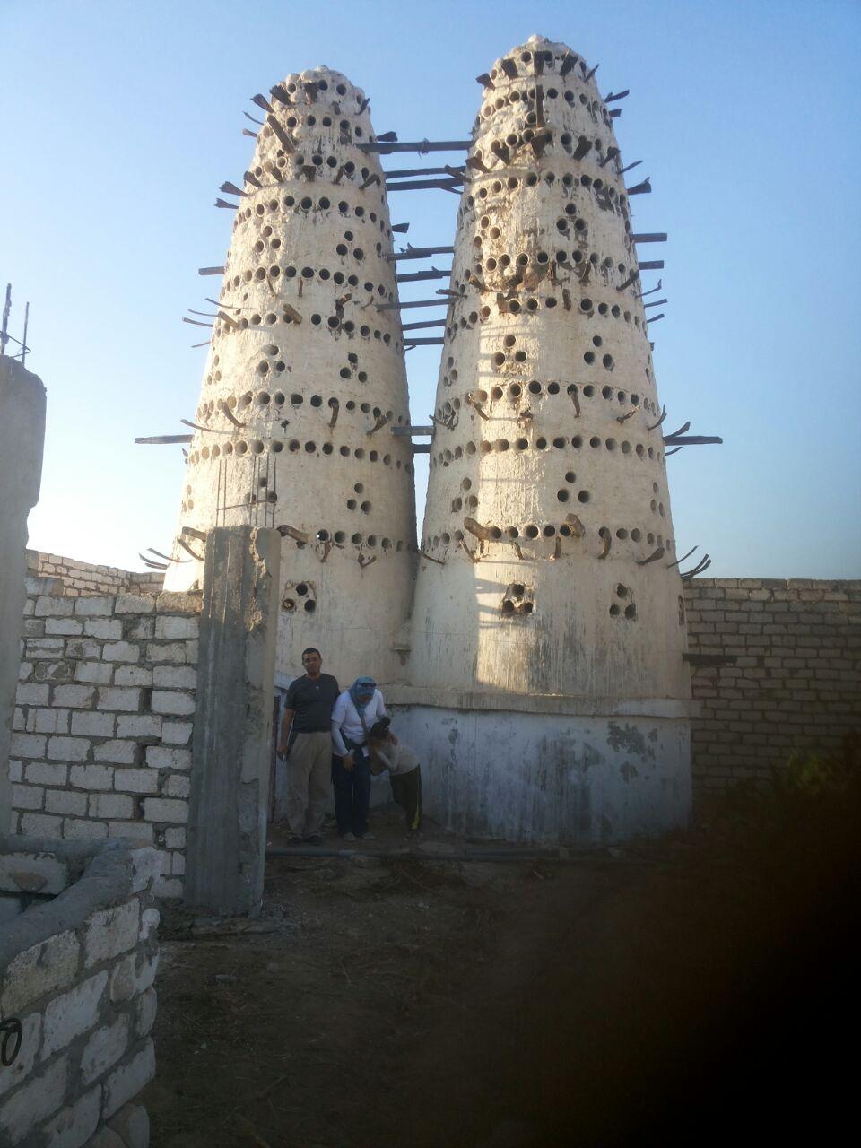Dovecote at ad delingat, Buheira, Egypt