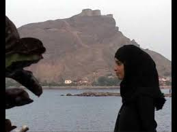 Girl's Profile in Aden, Yemen