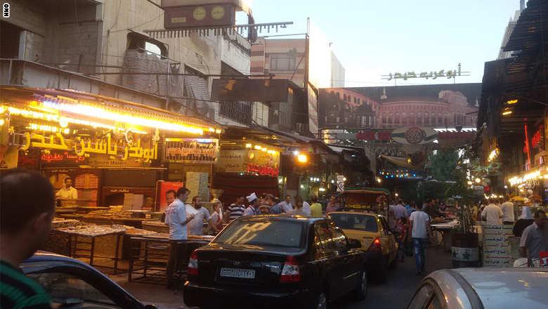 Jezmatiyeh souq, Damascus, Syria