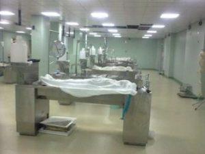 Morgue in Egypt